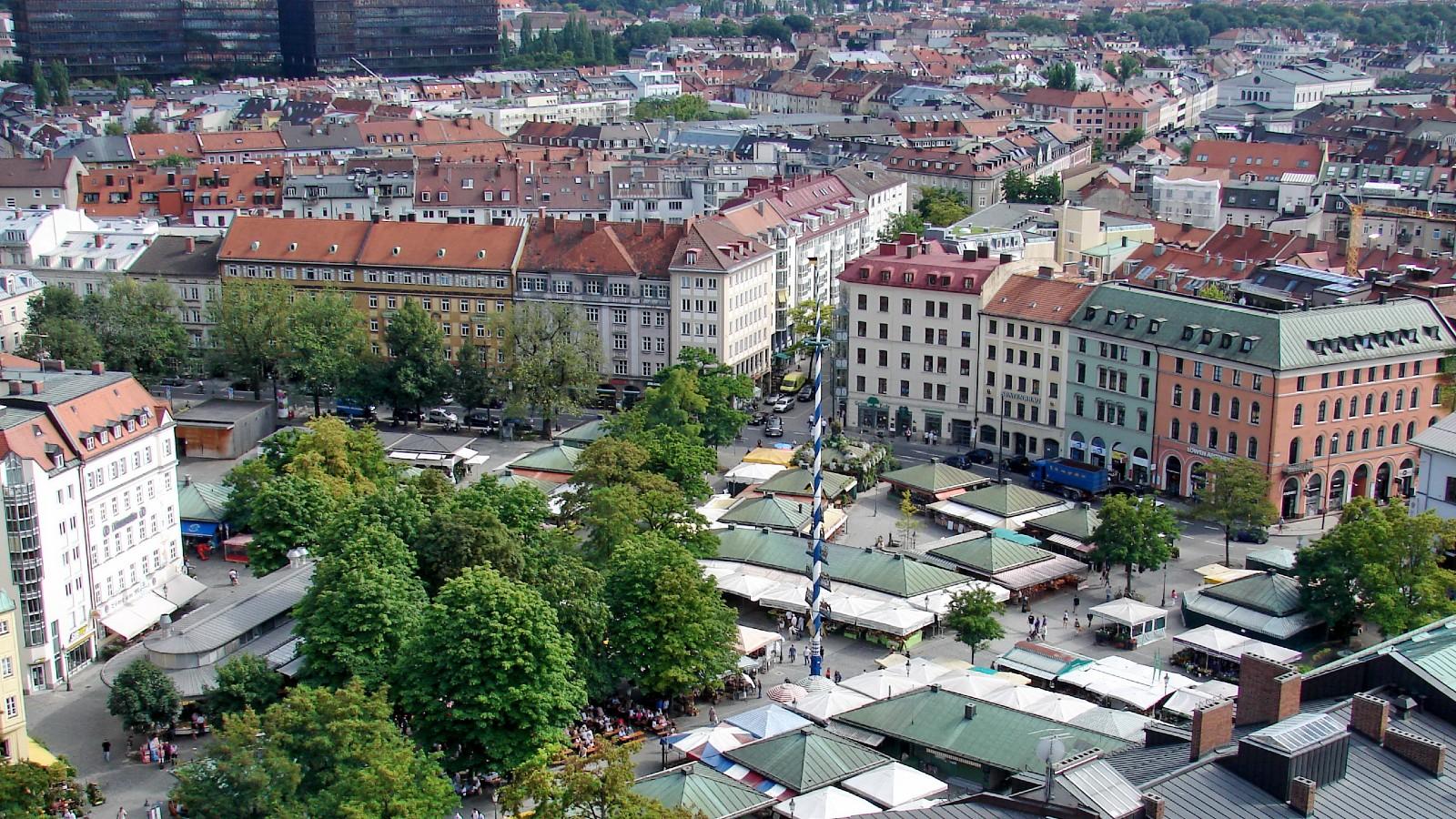 Mercati a Monaco di Baviera